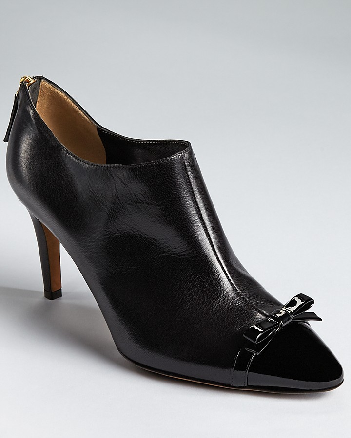 Moschino Cheap & Chic Moschino Cheap and Chic Ankle Booties - Whitney Bow