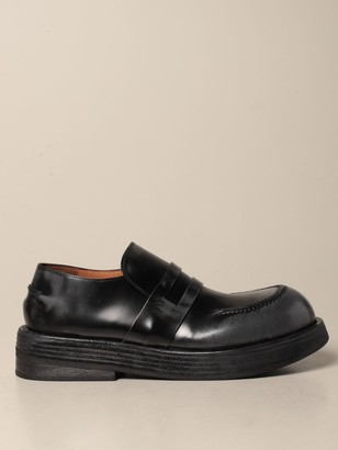 Marsèll Musona Moccasin In Brushed Leather
