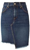 Rag & Bone JEAN Eddy Dive Denim Skirt