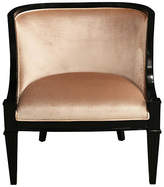 Ave Home Carlyle Lounge Chair - Blush Velvet