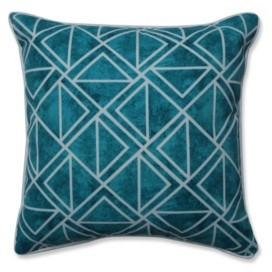 Pillow Perfect Lanova Peacock Throw Pillow, Set of 2