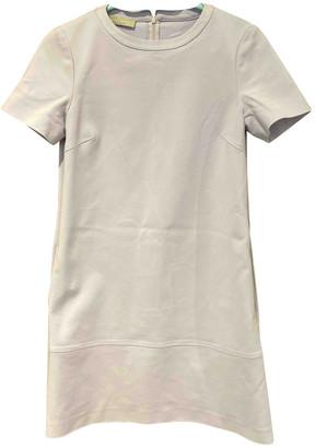 Stefanel Purple Cotton - elasthane Dress for Women