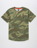 Neff Scallop Camo Boys T-Shirt