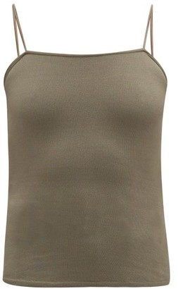 Lemaire Jersey Tank Top - Womens - Khaki