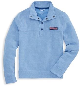 Vineyard Vines Little Boy's & Boy's Snap-Neck Sweatshirt