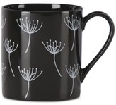 Lenox Around the Table Collection Black Wish Mug