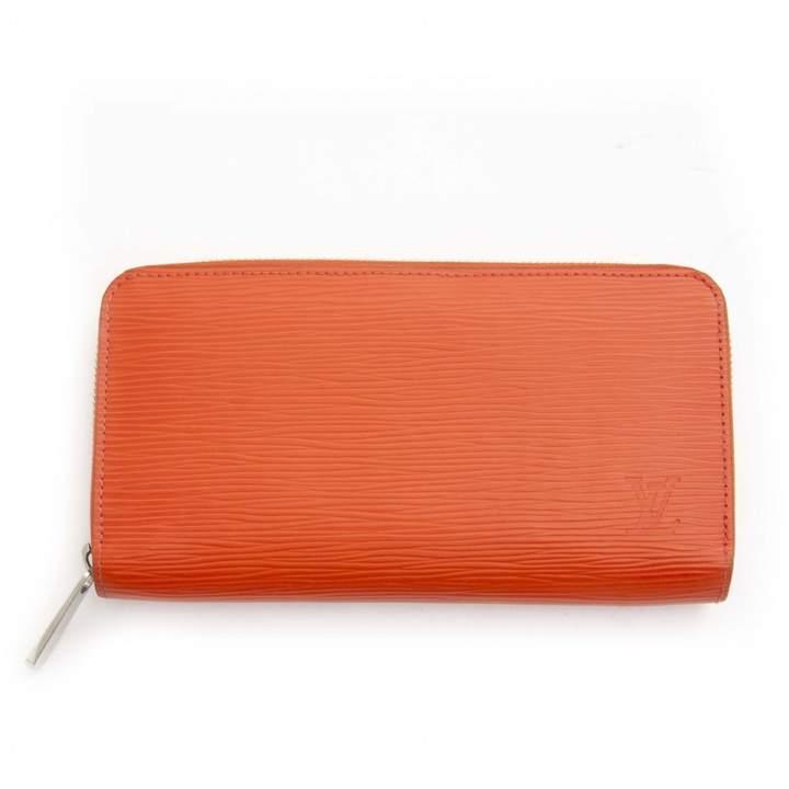 99f4e47573c2d4 Orange Leather Wallet - ShopStyle