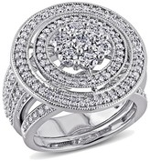 Allura 2 CT. T.W. Diamond Bridal Ring Set in 10K White Gold (GH I2-I3)