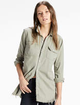 Lucky Brand Boyfriend Shirt In Sedona
