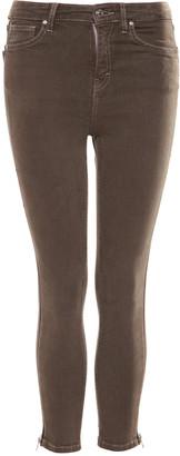 Devoted Women's Denim Pants and Jeans 18073-DUSTY - Dusty Khaki Skinny Jeans - Women