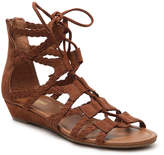 Crown Vintage Women's Sarah II Wedge Sandal -Cognac