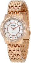 August Steiner Women's ASA827RG Dazzling Diamond Bracelet Watch