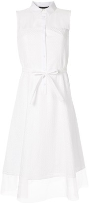 Paule Ka Broderie Anglaise Shirt Dress