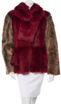Escada Reversible Fur Coat