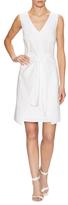 Ava & Aiden Cotton V-Neck Shirt Dress