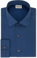 Kenneth Cole Reaction Men's Slim-Fit Flex Collar Three-Way Stretch Performance Dress Shirt