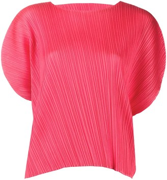 Pleats Please Issey Miyake Loose Fit Blouse