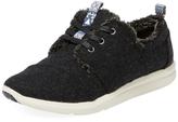 Toms Del Rey Faux Fur Lined Sneaker