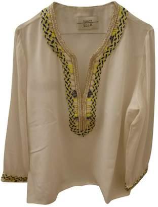 ELLA LUNA White Silk Top for Women