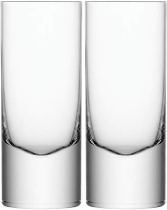 LSA International Boris Set of 2 Handmade Highball Glasses