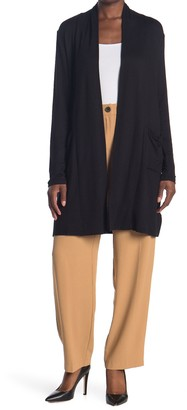 Love by Design Princeton Open Front Pocket Long Cardigan