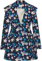 DELPOZO Star Printed Coat