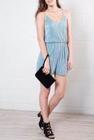Everly Micro Pleated Romper