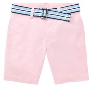 Ralph Lauren Childrenswear Little Boy's Belted Chino Shorts