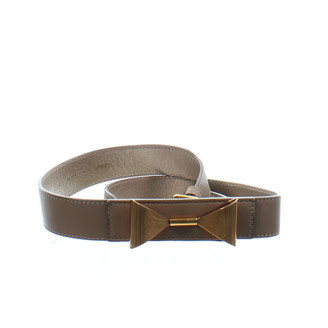 Chloé Beige Leather Belts