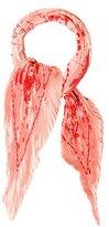 Hermes Cheval Surprise Silk Plissé Scarf