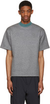 Kolor Grey Mock Neck T-shirt