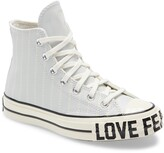Converse Chuck Taylor(R) All Star(R) 70 Love Fearlessly High Top Leather Sneaker