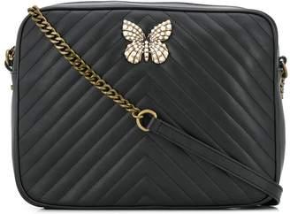 Twin-Set leather shoulder bag