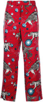 Gucci printed pyjama trousers - men - Silk - 48
