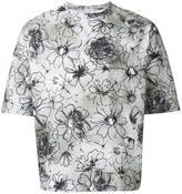 Jil Sander floral print T-shirt - men - Cotton - S