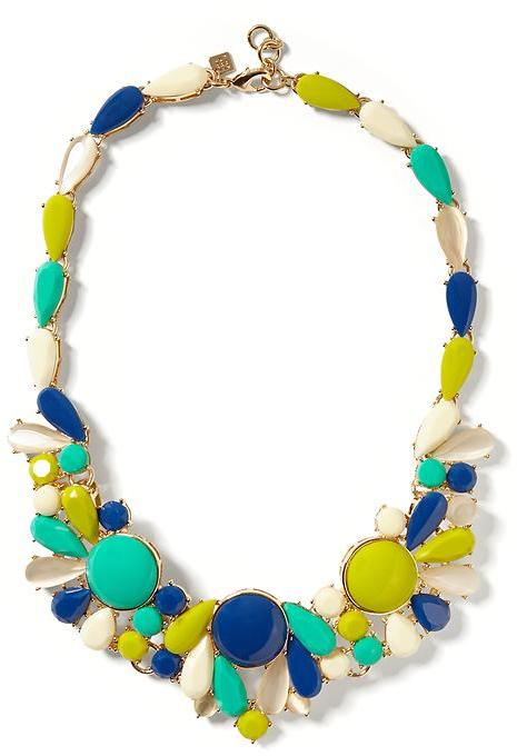 Banana Republic Butterfly Statement Necklace