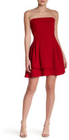 Do & Be Do + Be Strapless Fit and Flare Dress