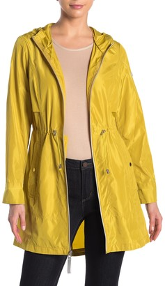 Vince Camuto Lightweight Solid Hooded Anorak Jacket