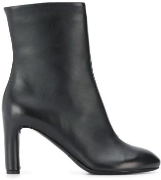 Del Carlo Mid Length Zip Boot