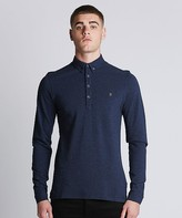 Farah Merryweather Long Sleeve Polo Shirt