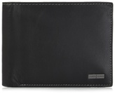 J By Jasper Conran Black Billfold Flap Wallet In A Gift Box