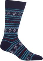 Hot Sox Men's Fair Isle Socks