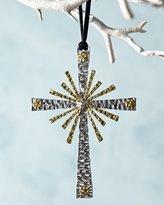 Michael Aram Forged Cross Christmas Ornament
