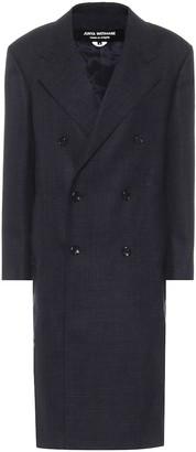 Junya Watanabe Double-breasted wool coat