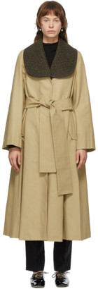 Loewe Beige Belted Coat