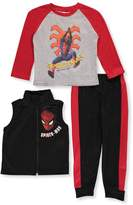 Spiderman Little Boys' 3-Piece Outfit