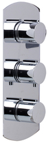 Alfi Concealed Thermostatic Valve Shower Mixer Round Knobs