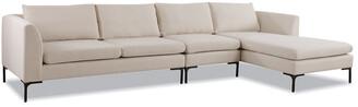 Jennifer Taylor Weylyn Raf Chaise Sectional Sofa