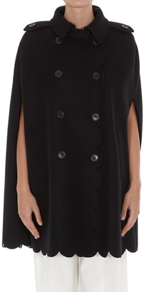 RED Valentino Leo Panther Cape