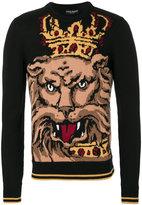 Dolce & Gabbana Royal Lion jumper